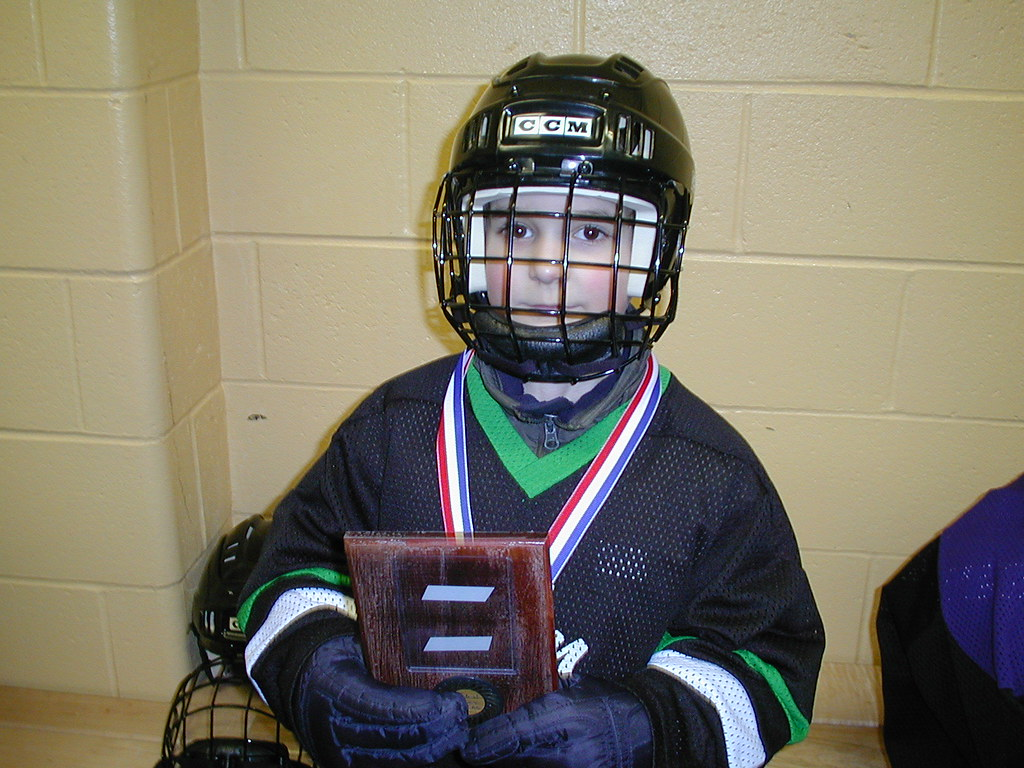 Second year Minor Hockey