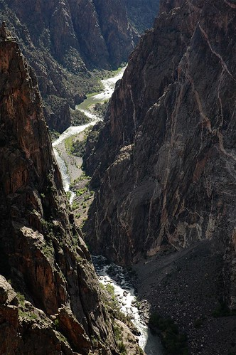 river ilovenature nationalpark colorado rocks canyon montrose geology paintedwall blackcanyonofthegunnisonnationalpark 200606 gunnisonriver