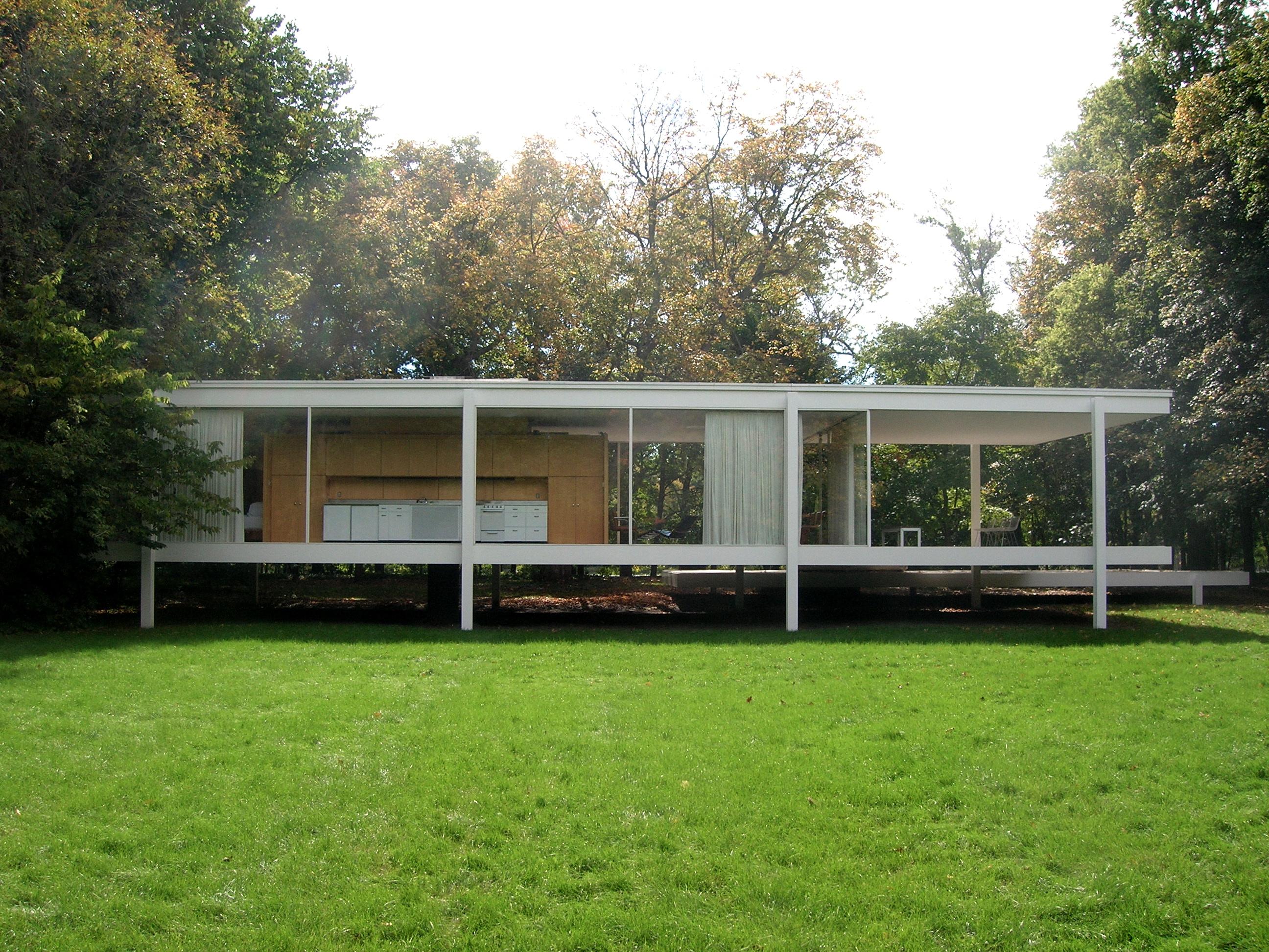 Farnsworth house plano illinois for The farnsworth
