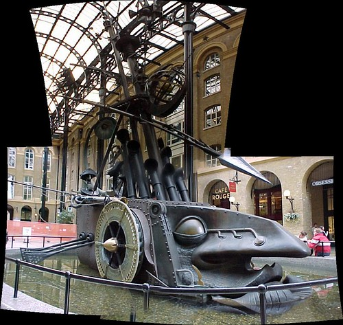 London : The Navigators by David Kemp, Hay's Galleria by Craig Grobler