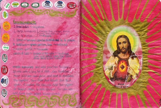 Guacamole / Sacred Heart (Composition Book Journal)