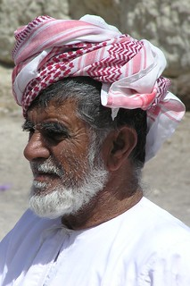 Oman March 2004 - Market in Barka