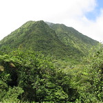 One of the 4 carbet pitons in the center of the island