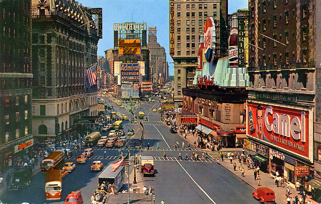 New York City, 1950's
