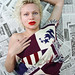 Small photo of Katya - Newspaper Photo Shoot Series