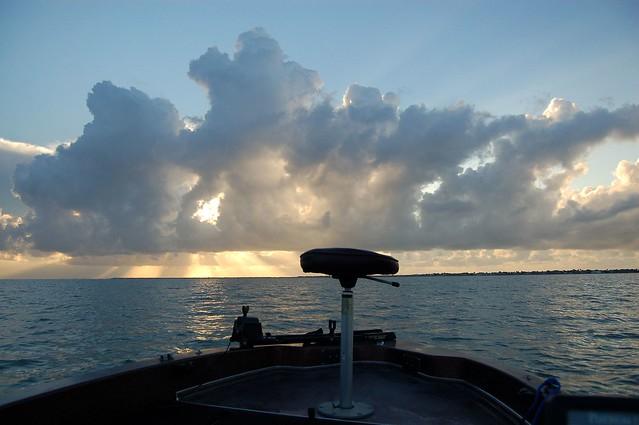 Copano bay sunrise sunrise on copano bay near rockport for Copano bay fishing
