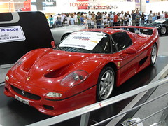 race car(1.0), automobile(1.0), vehicle(1.0), performance car(1.0), automotive design(1.0), ferrari f50 gt(1.0), ferrari f50(1.0), ferrari s.p.a.(1.0), land vehicle(1.0), supercar(1.0), sports car(1.0),