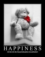 Happiness :-(