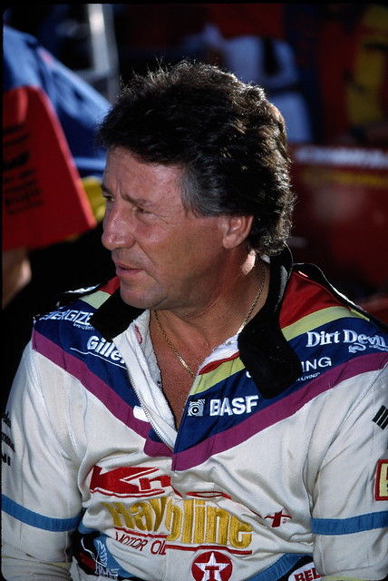 Header of Mario Andretti