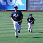 Trevor Hoffman and son