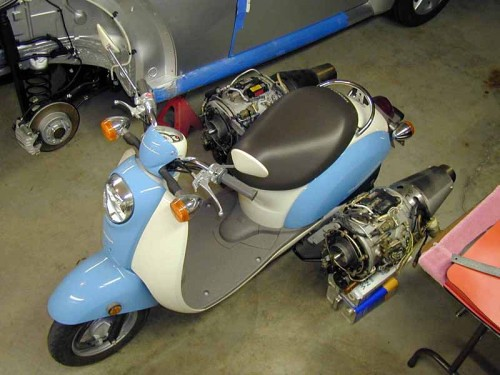 Small Engine Scooters : Turbo scooter flickr photo sharing