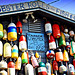 cape cod lobster buoys by mihay