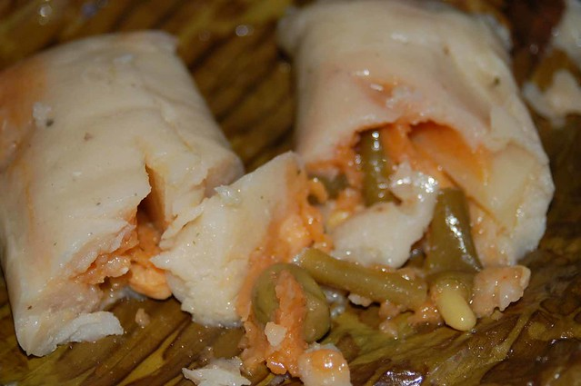 vegetable tamales in banana leaves | Flickr - Photo Sharing!
