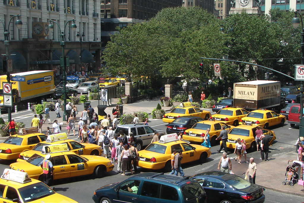 New York Taxi Madness