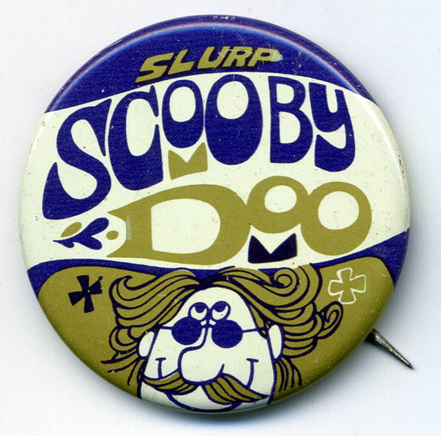 Slurpee Scooby Doo button
