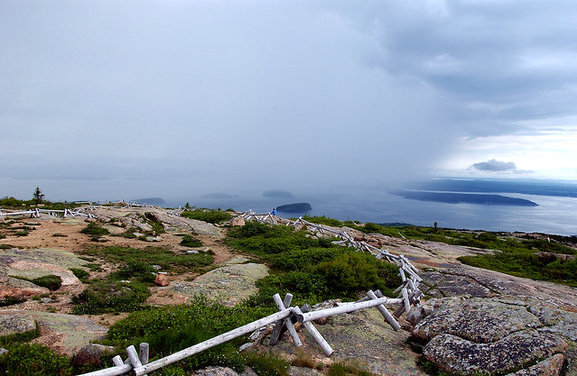 scenic view from cadillac mountain in acadia national park bar harbor. Cars Review. Best American Auto & Cars Review