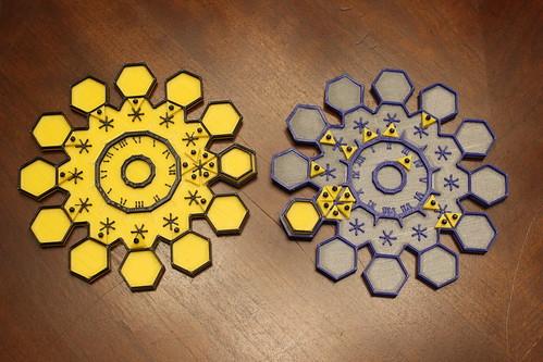 3D Printing - Dyson Spheres - Trial Set