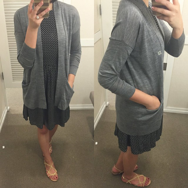 LOFT Relaxed Cardigan, size SP