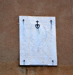 Rellotge de Sol, Santuari del Far.