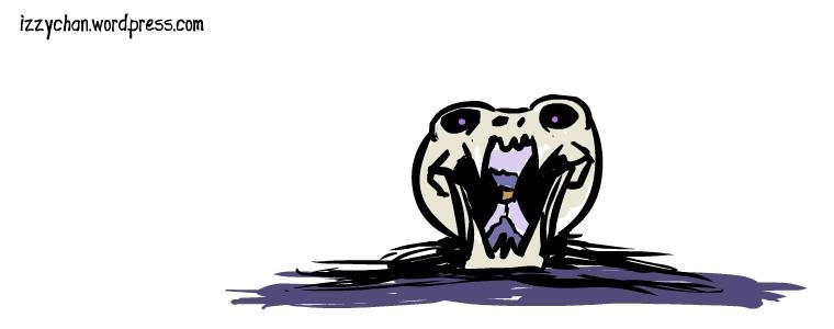 purple skull time