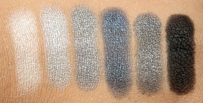 IsaDora Grey temptation eye color bar swatch