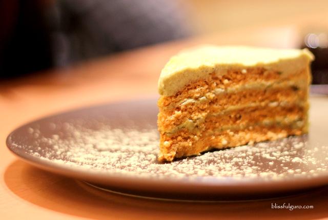 Saboten Makati City Sesame Sansrival Cake
