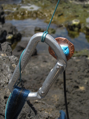 Contact Mic on Carabiner