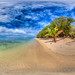 Crystal Clear Waters of Leleuvia Island - virtual reality tour in description by Nick Hobgood - Amphibious photographer
