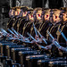 Top Secret Drum Corp Member pre show Royal Edinburgh Military Tattoo 2015 by FotoFling Scotland