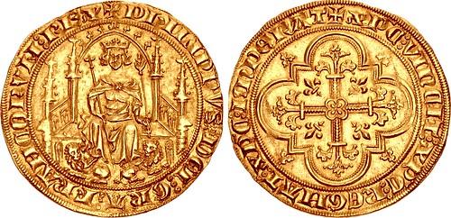 Lot 2040 FRANCE, Royal. Philippe VI de Valois Parisis d'or