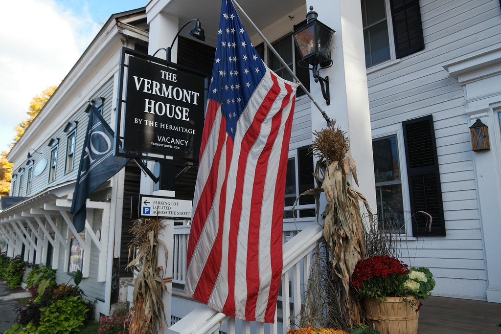 Outside The Vermont House