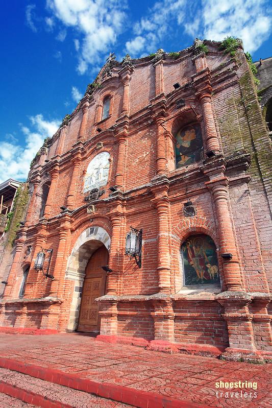 San Juan Bautista Church facade in Liliw