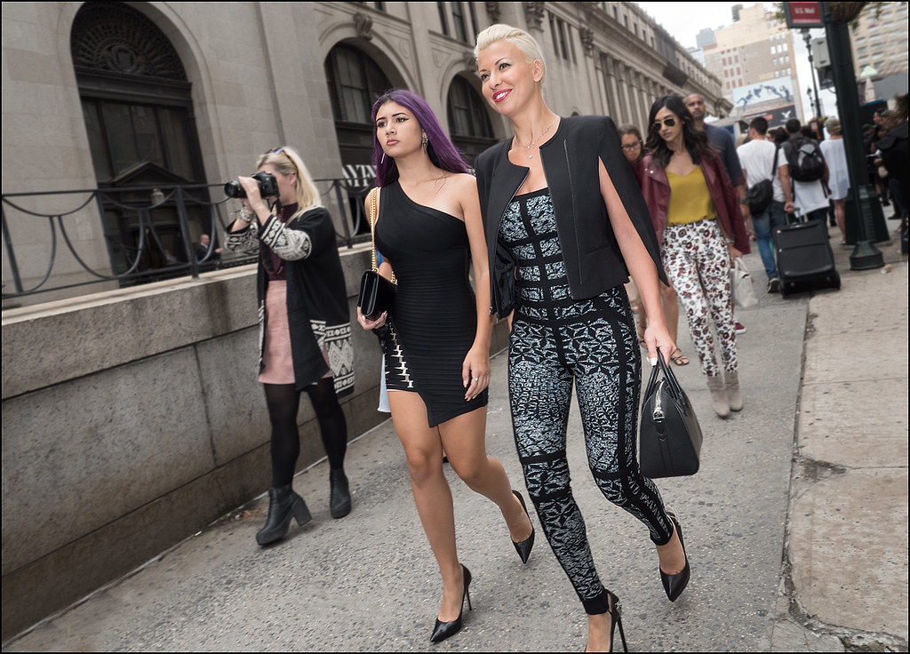On 33rd St After Herve Leger NYFW 9-2015