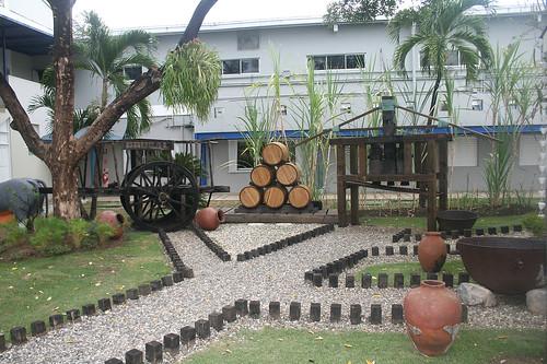 Rum factory Brugal / Rumfabrik Brugal