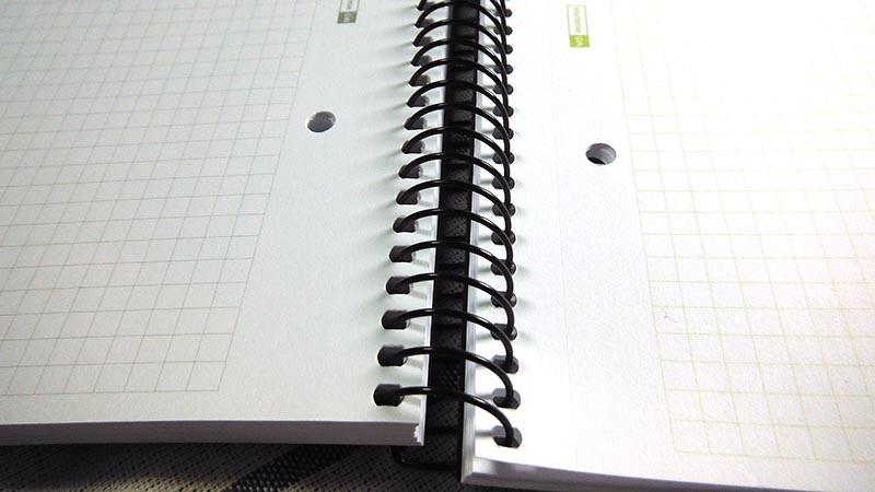 Libreta Miquelrius, espiral , A4 cuadriculada