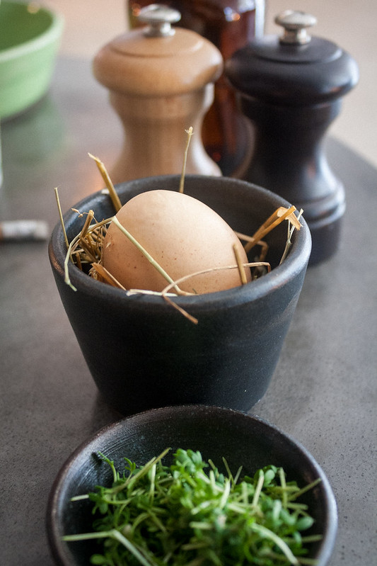 Soft-boiled egg at Møller - Copenhagen, Denmark