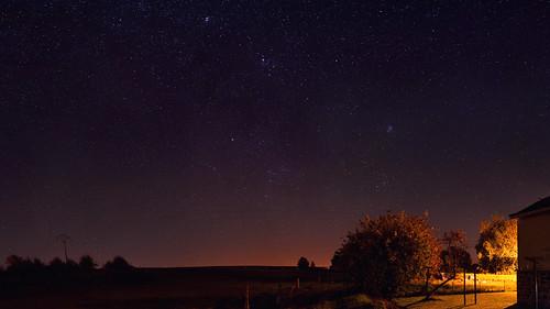 East night sky