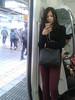Girl in train by Mark V.I