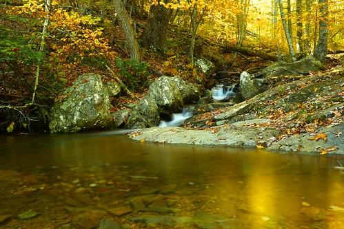 new autumn sunset fall water landscape countryside fallcolor bright outdoor shenandoah shenandoahnationalpark