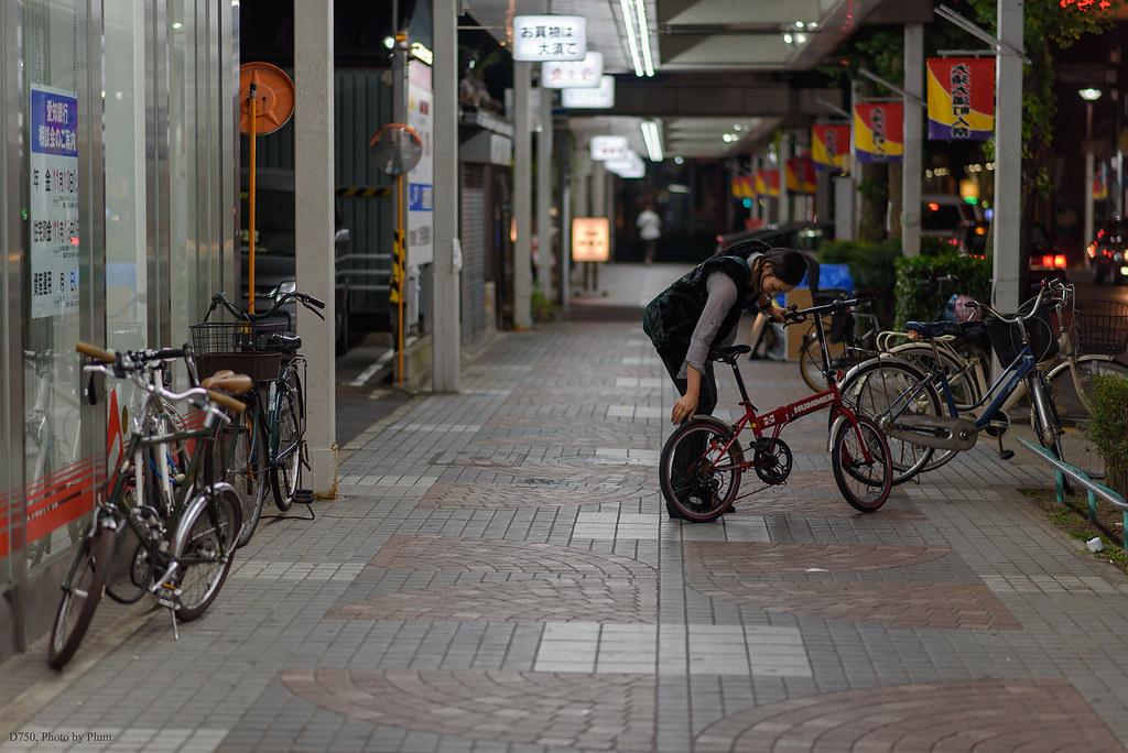 大須商店街の夜