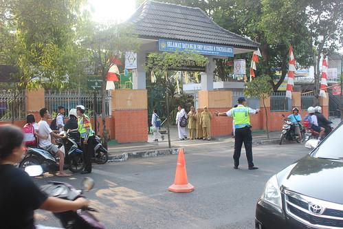 Pelantikan PKS di SMPN 4 Yogyakarta  Polresta Yogyakarta