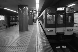Kintetsu-Nara Station on OCT 30, 2015