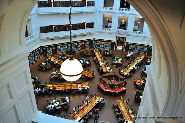 La Trobe Reading Room State Library of Victoria