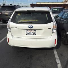 Doing Skidmore proud #parking #skidmore #proudalumni