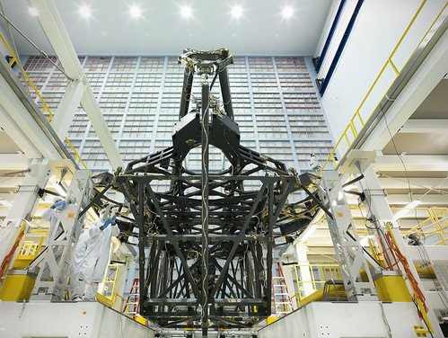 James Webb Space Telescope Structure Poised for Mirror Assembly