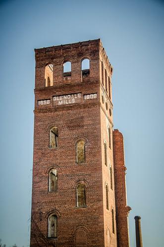 Glendale Mill Ruins-002