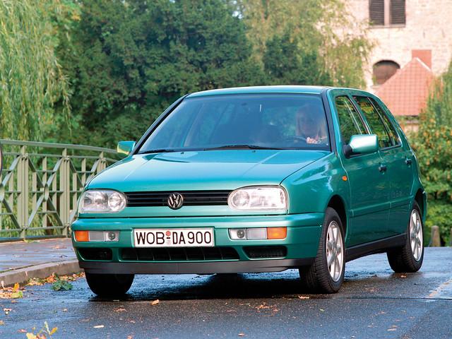 Пятидверный Volkswagen Golf (Typ 1H). 1991 – 1997 годы