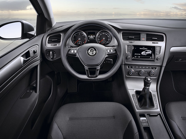 Салон Volkswagen Golf BlueMotion Concept (Typ 5G). 2012 год