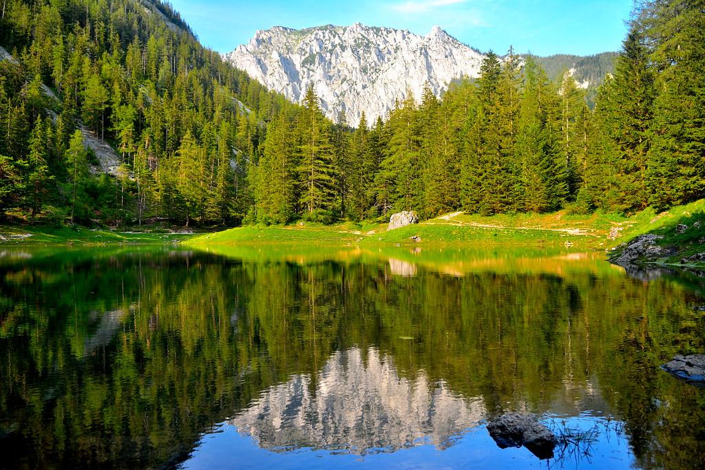 Green Lake, Tragoess, Austria