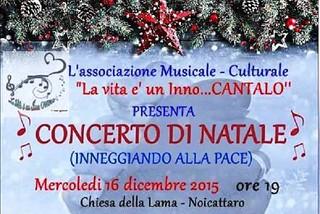 Noicattaro. Concerto di Natale front
